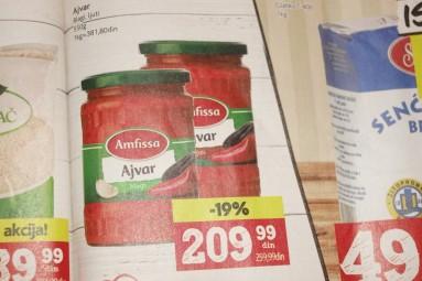 serbskie produkty - ajvar