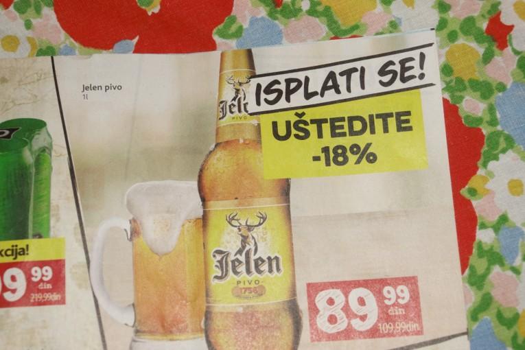 serbskie produkty - piwo jeleń