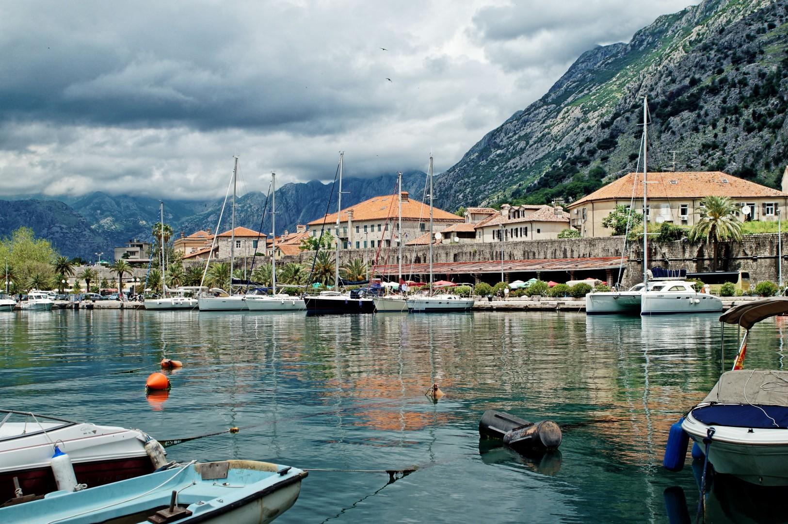 stare miasto w Kotorze
