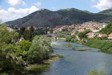 Trebisznica, Most Asrslanagica i Trebinje