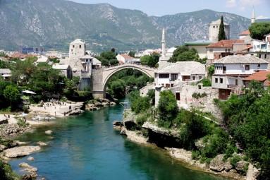 Mostar - widok na Stary Most