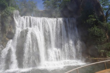 Wodospad w Jajce