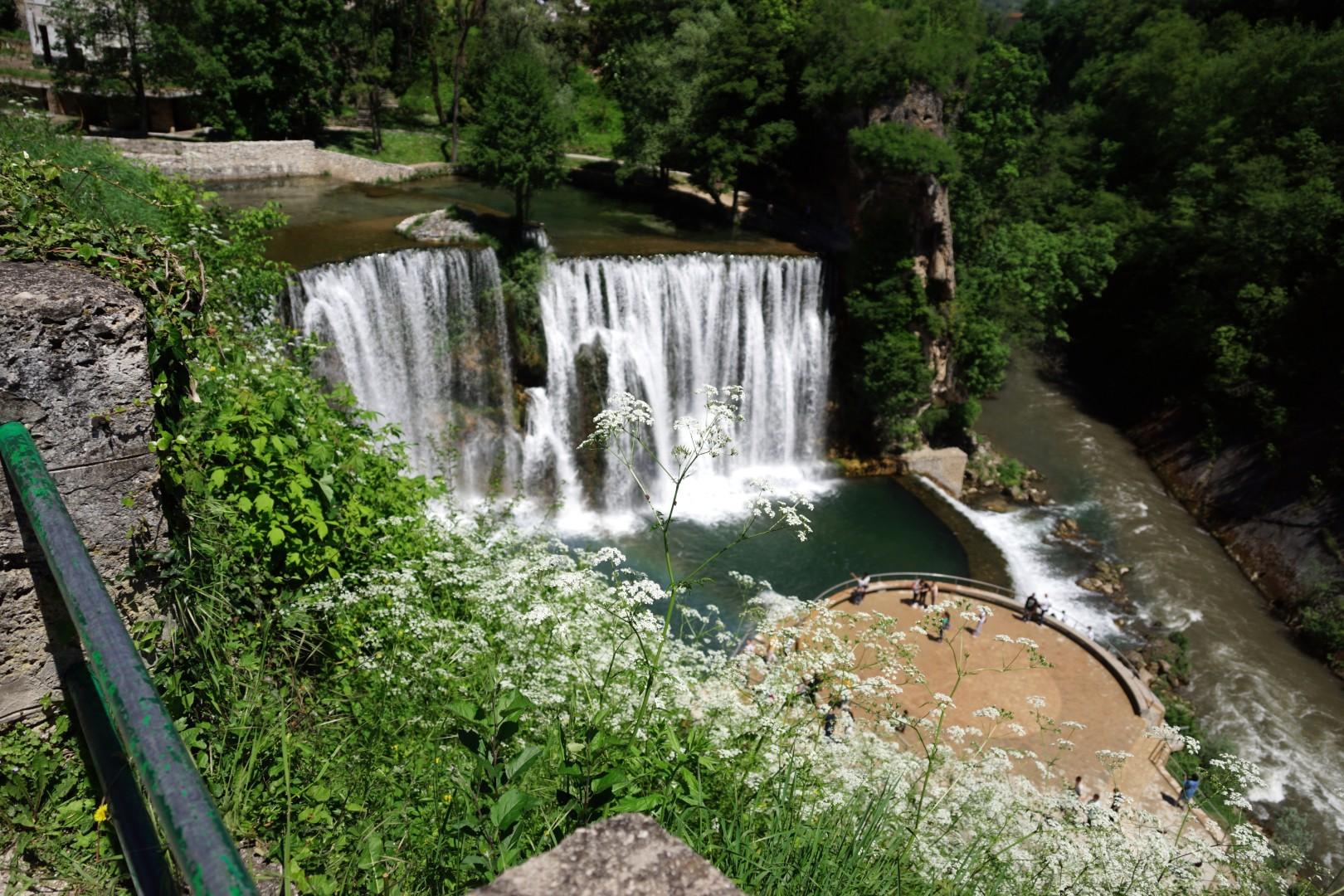 wodospady w Jajce