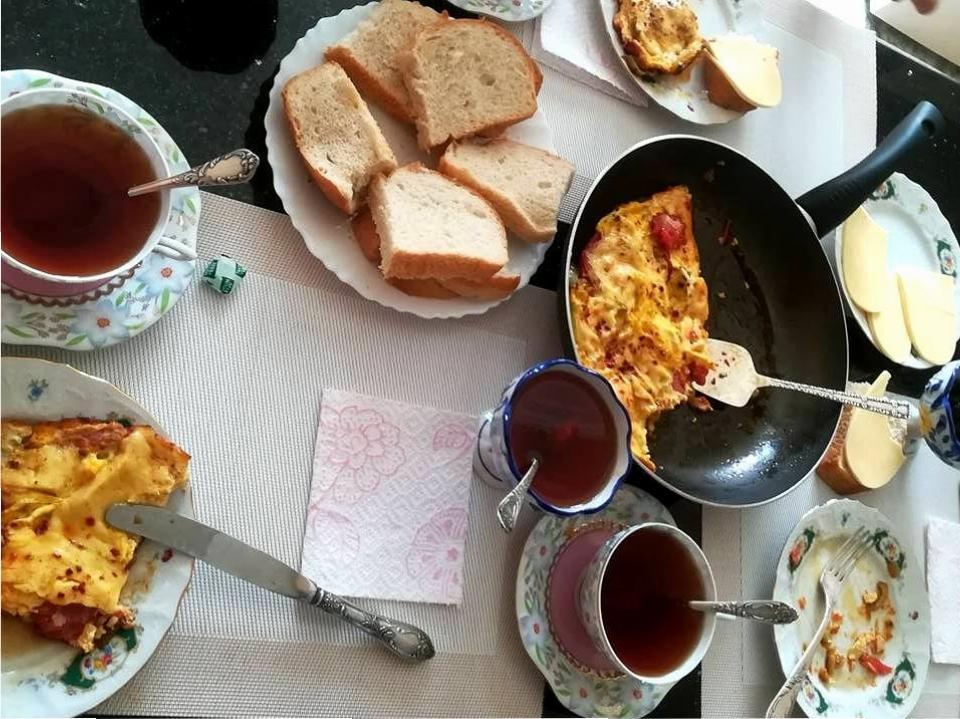 Śniadanie w Batumi