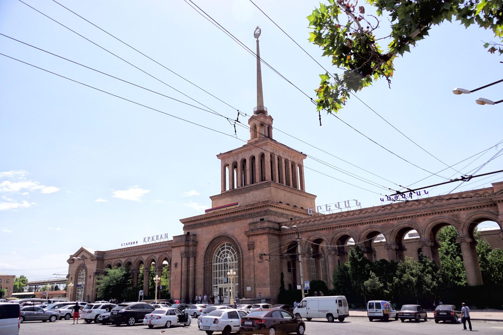 Dworzec kolejowy w Erywaniu