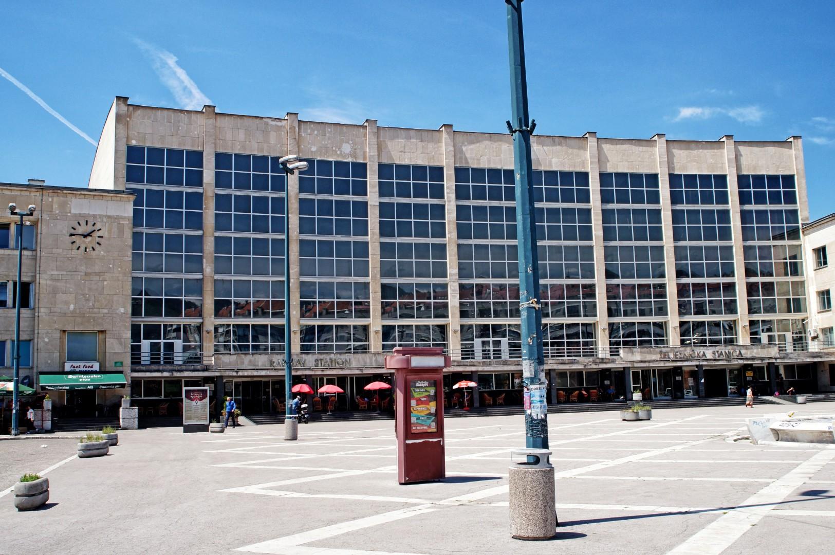 Dworzec kolejowy w Sarajewie