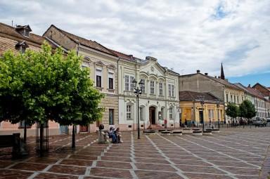 Ryneczek w Esztergom