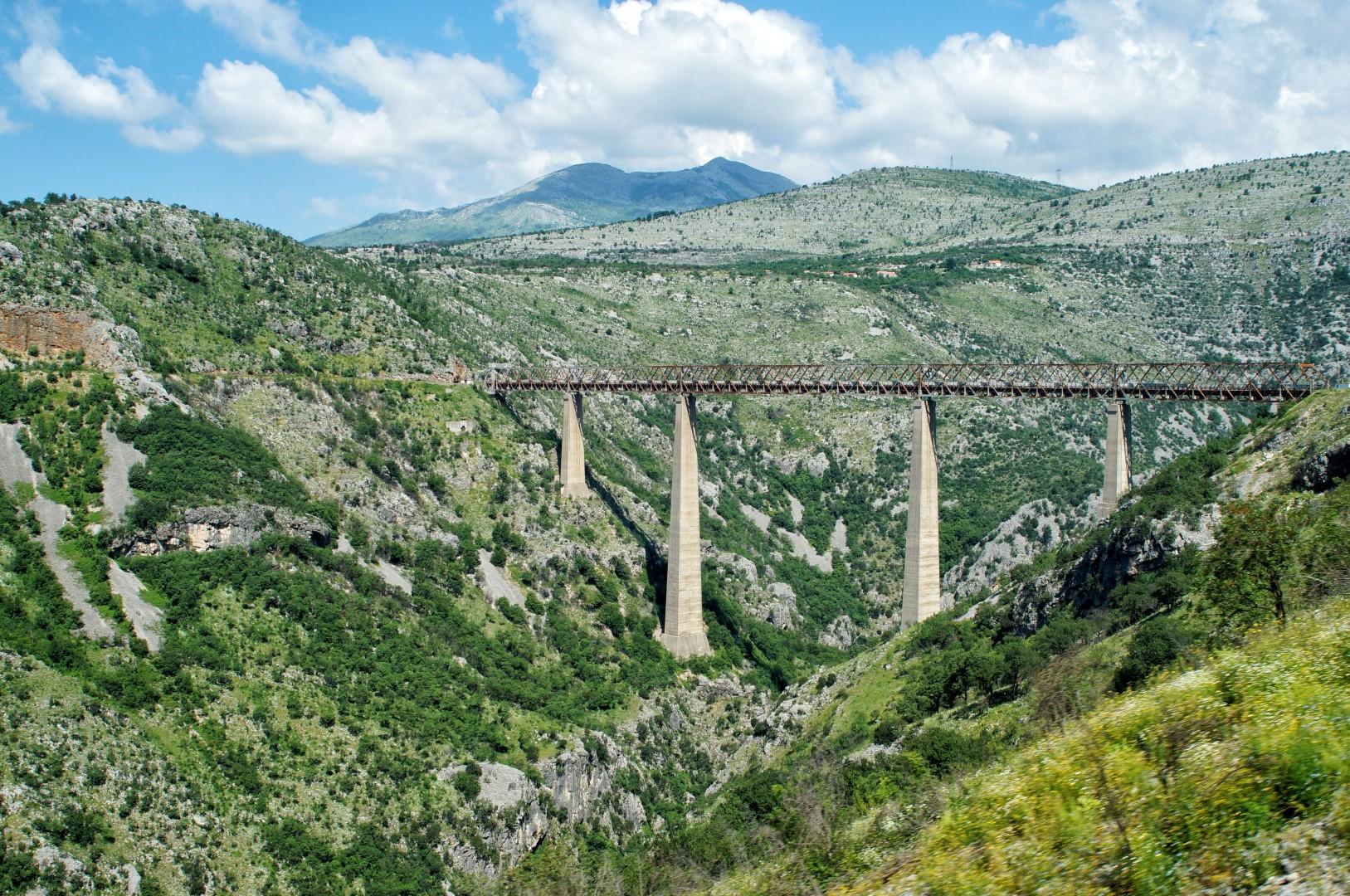 Najwyższy wiadukt kolejowy na świecie