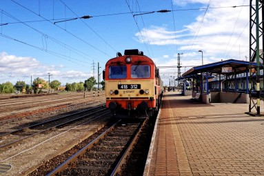 dworzec w Veszprem
