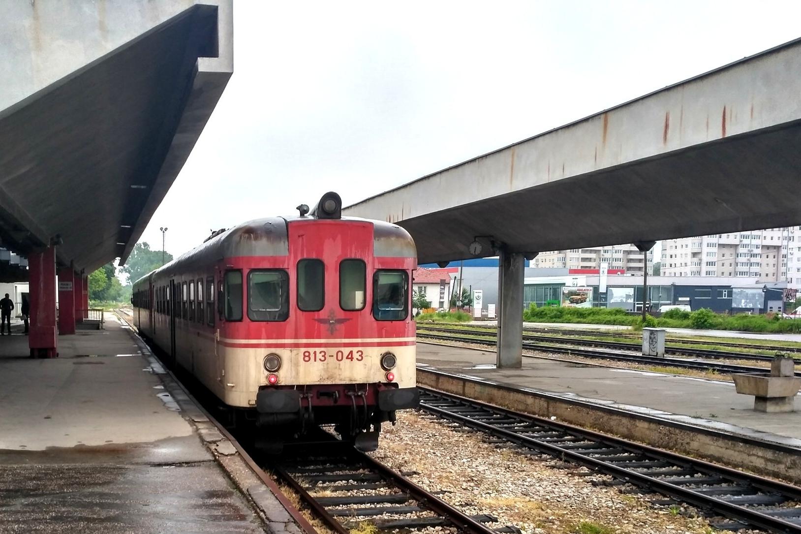 Pociąg kolei Republiki Serbskiej Bośni i Hercegowiny