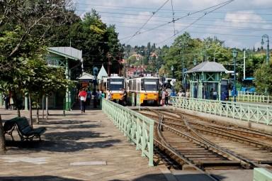 Pętla tramwajowa w Budapeszcie