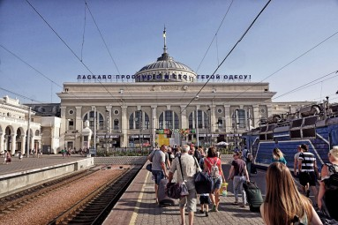 dworzec kolejowy w Odessie