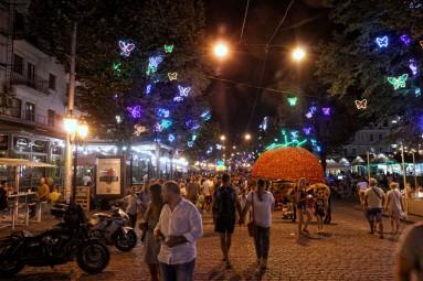 Ulice Deribasowska w Odessie