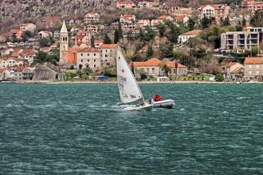 Widok na Zatokę Kotorska w Muo