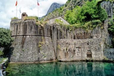 Mury obronne w Kotorze
