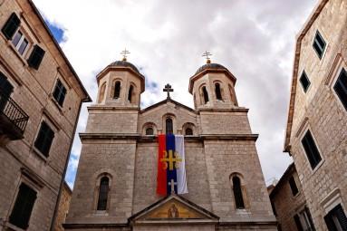 Piękna cerkiew św. Mikołaja w Kotorze