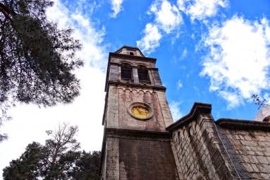 Wieża kaplicy cmentarnej w Risan