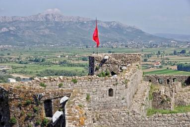 Zamek Rozafa i albańskie krajobrazy