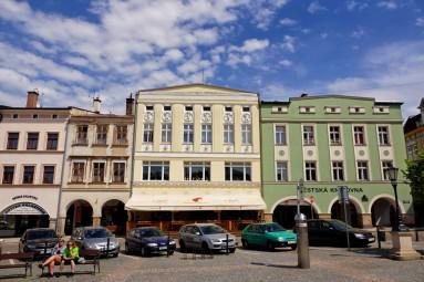Rynek w Trutnovie