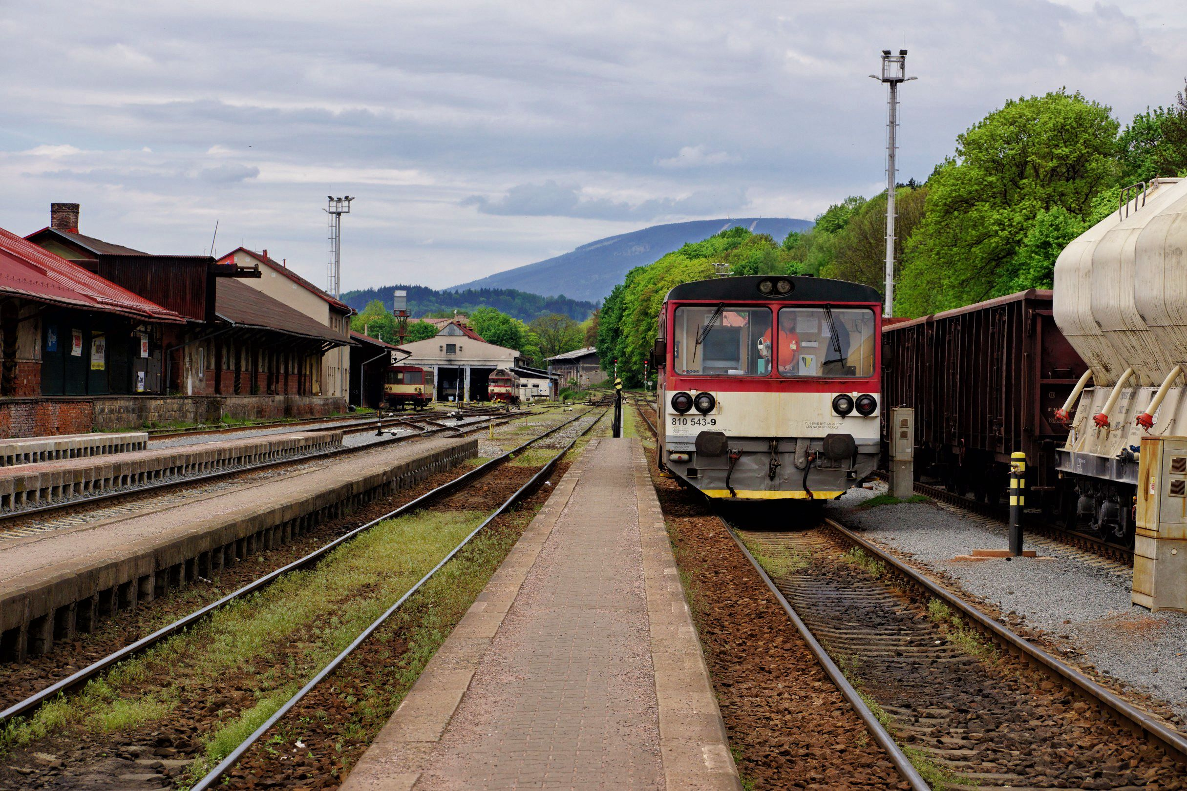 stacja w Trutnovie
