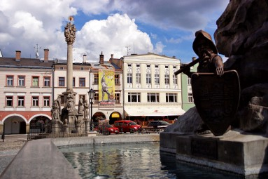 Rynek Karkonosza w Trutnovie
