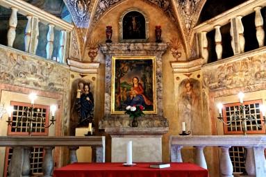 kaplica św. Barbary Grabstejn