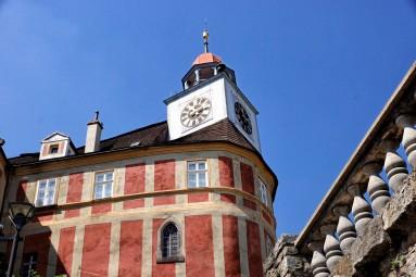 Piękny zamek w Javorniku