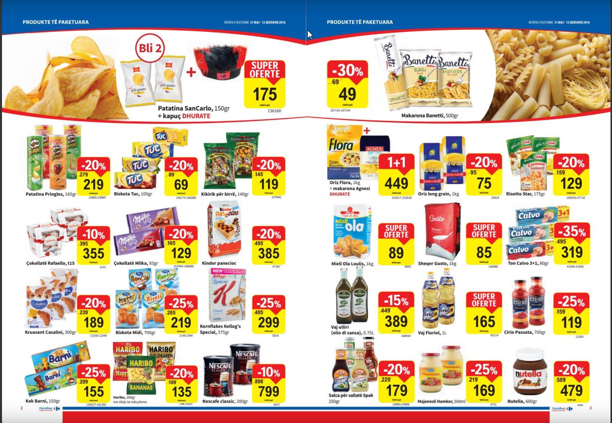 Ceny w Albanii w sklepach są bardzo zbliżone do polskich