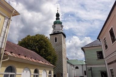 Wieża kościoła wniebowzięcia NMP w Bruntalu