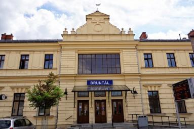 Stacja kolejowa w Bruntalu