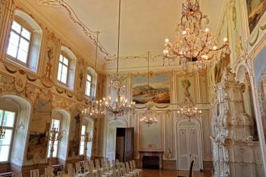 Sala reprezentacyjna zamku Bruntal