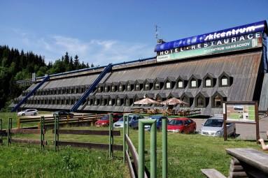 Hotel Skicentrum Harrachov, w którym nocowałem