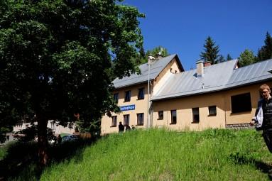 Stacja kolejowa w Harrachowie
