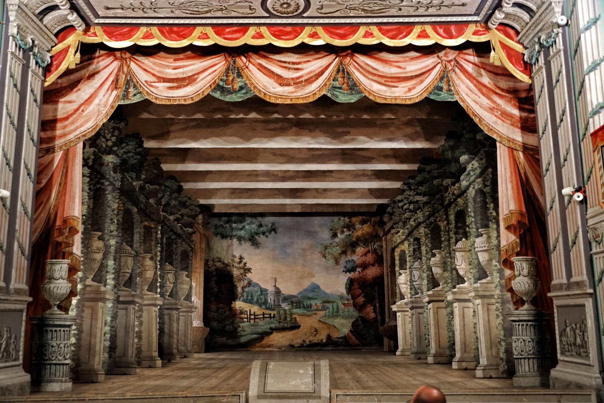 Teatr zamkowy w Litomyślu