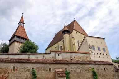 Warowny gród kościelny w Biertan