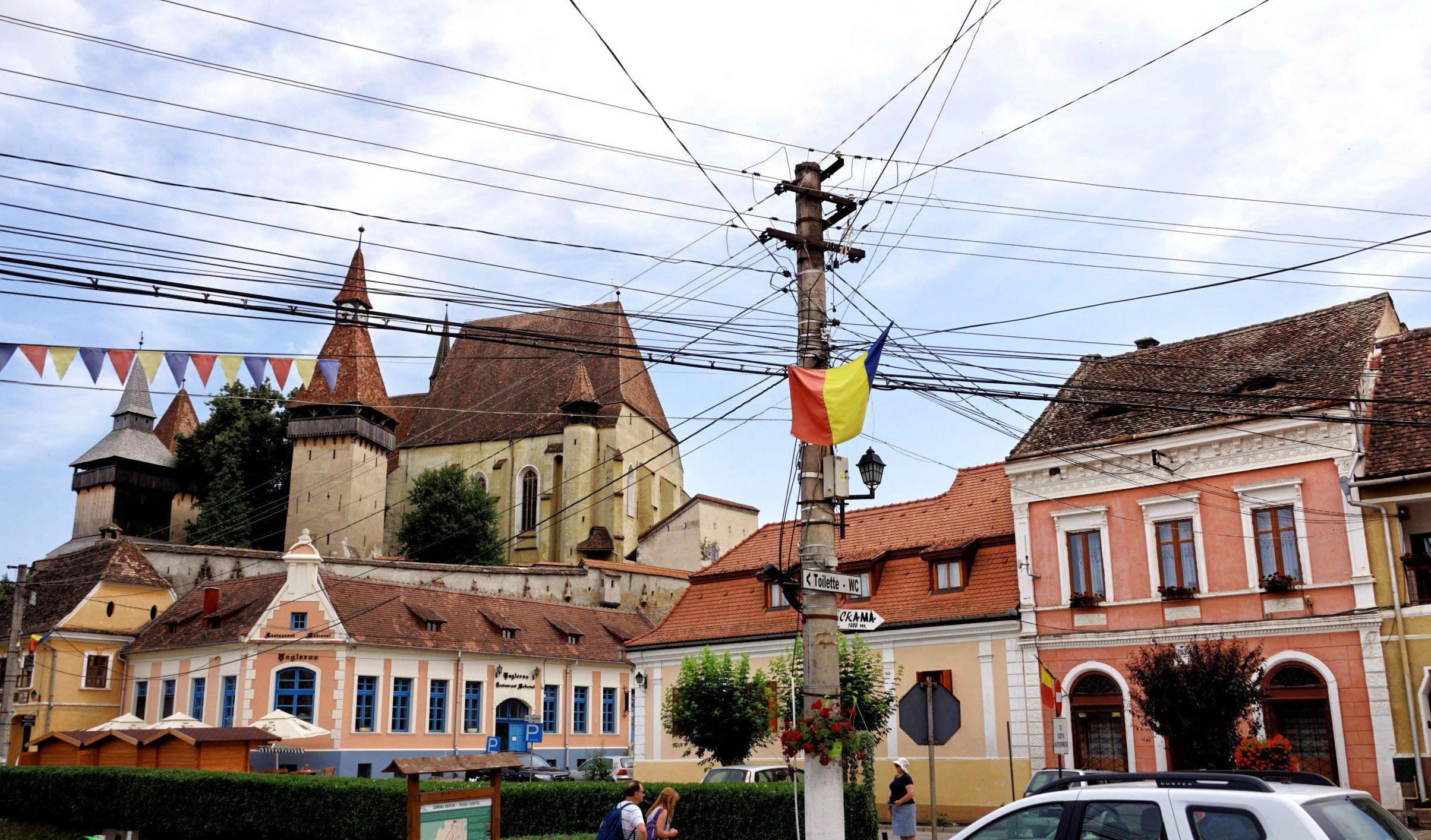 Serce Biertanu - centralny placyk wsi