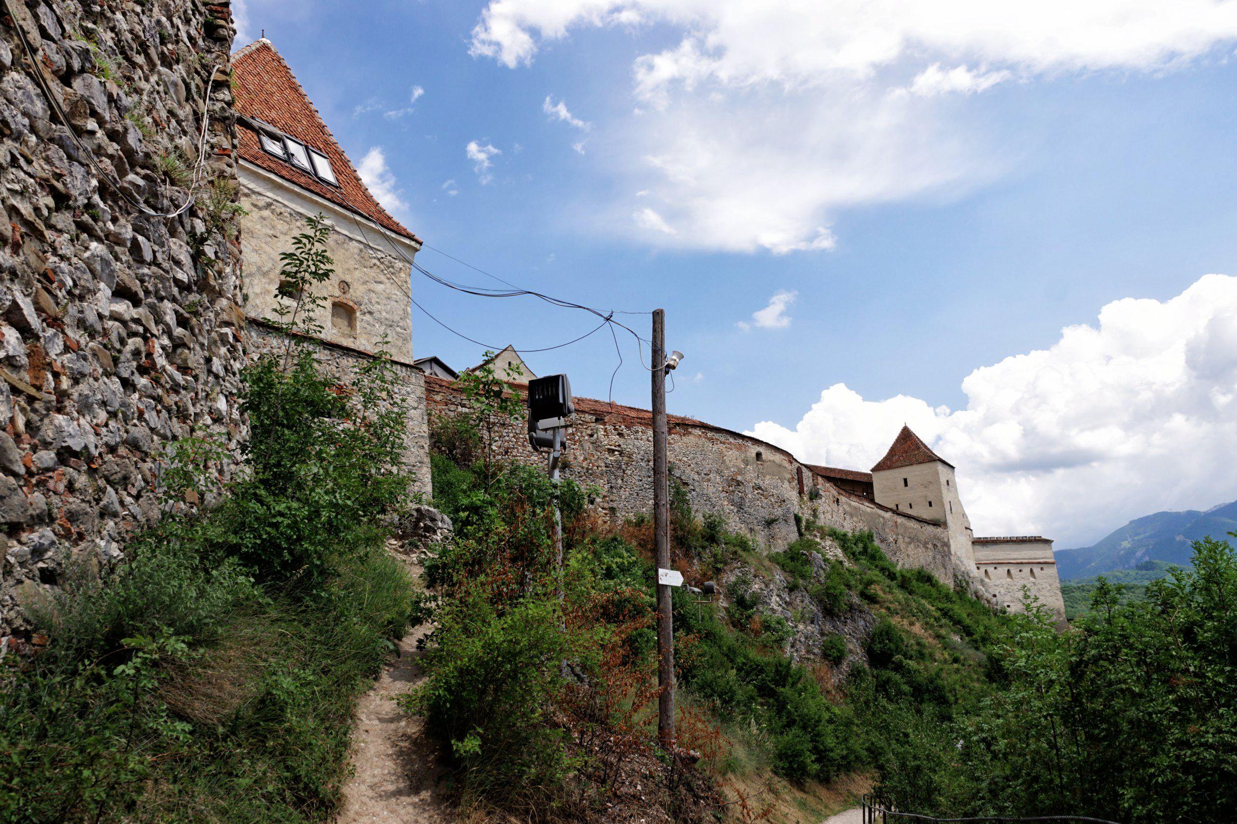 Zamek w Rasnovie