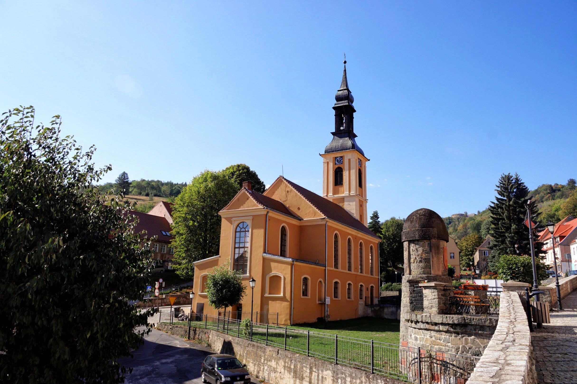 Dawny kościół ewangelicki św. Michała Srerbrna Góra