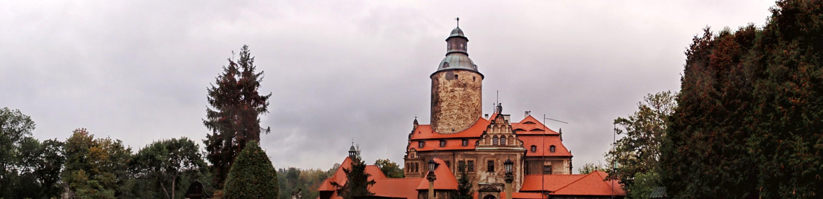 Zamek Czocha w panoramie