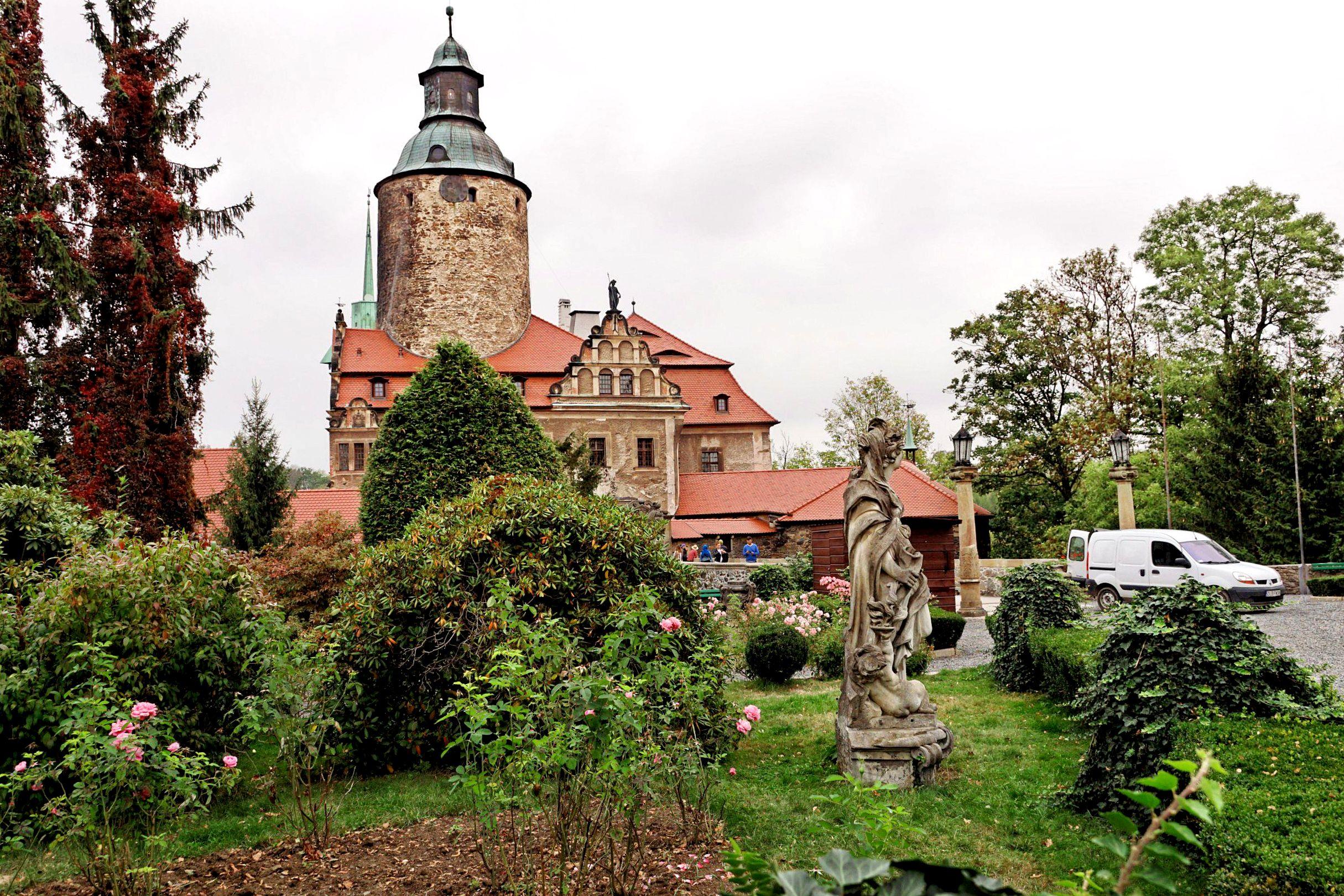Zamek Czocha z tarasów zamkowych