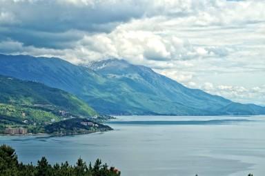 Masyw Galiczicy, otaczający Jezioro Ochrydzkie