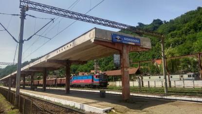 stacja w Sighisoarze