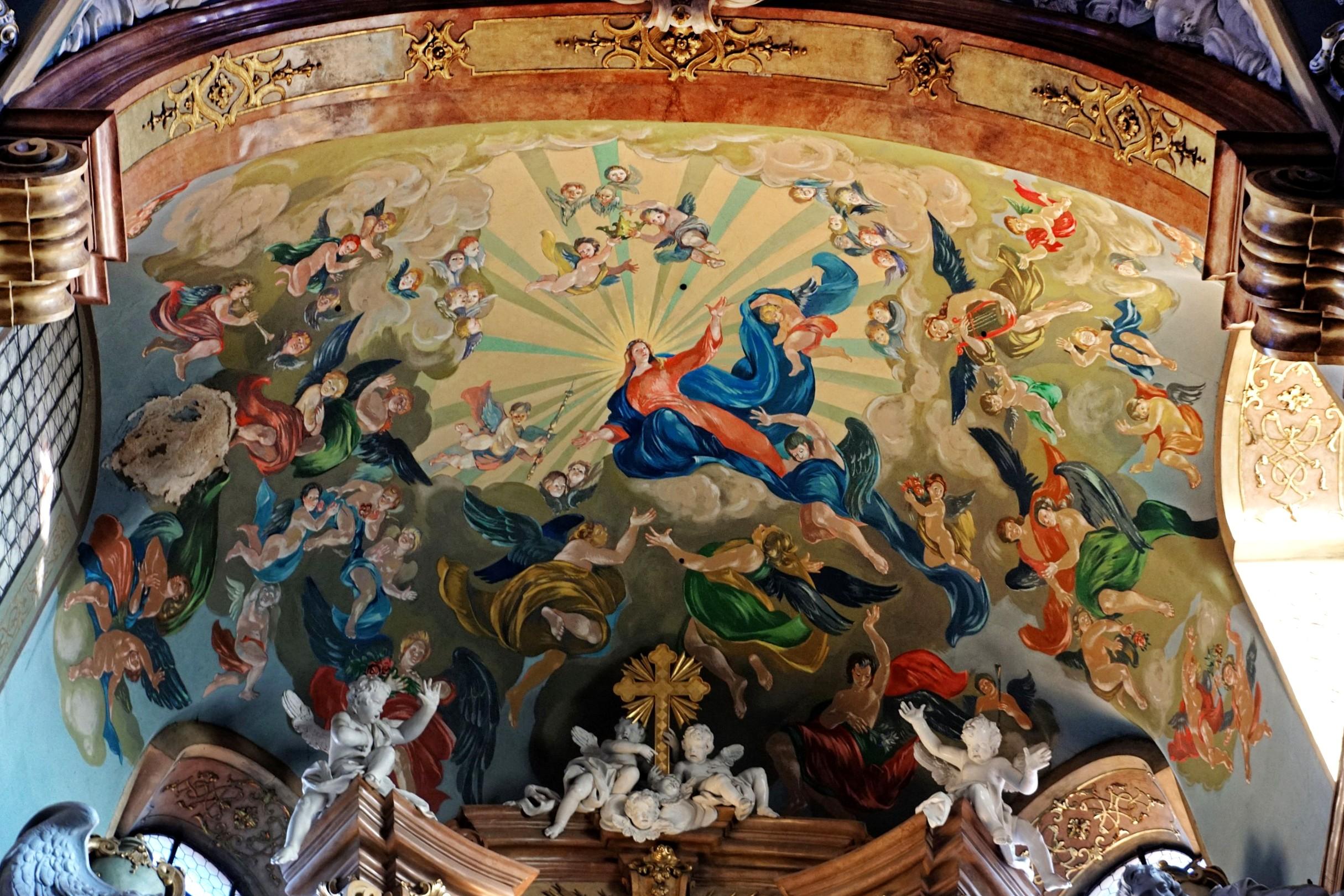 otycki Kościół Wniebowzięcia Najświetszej Marii Panny Kłodzko