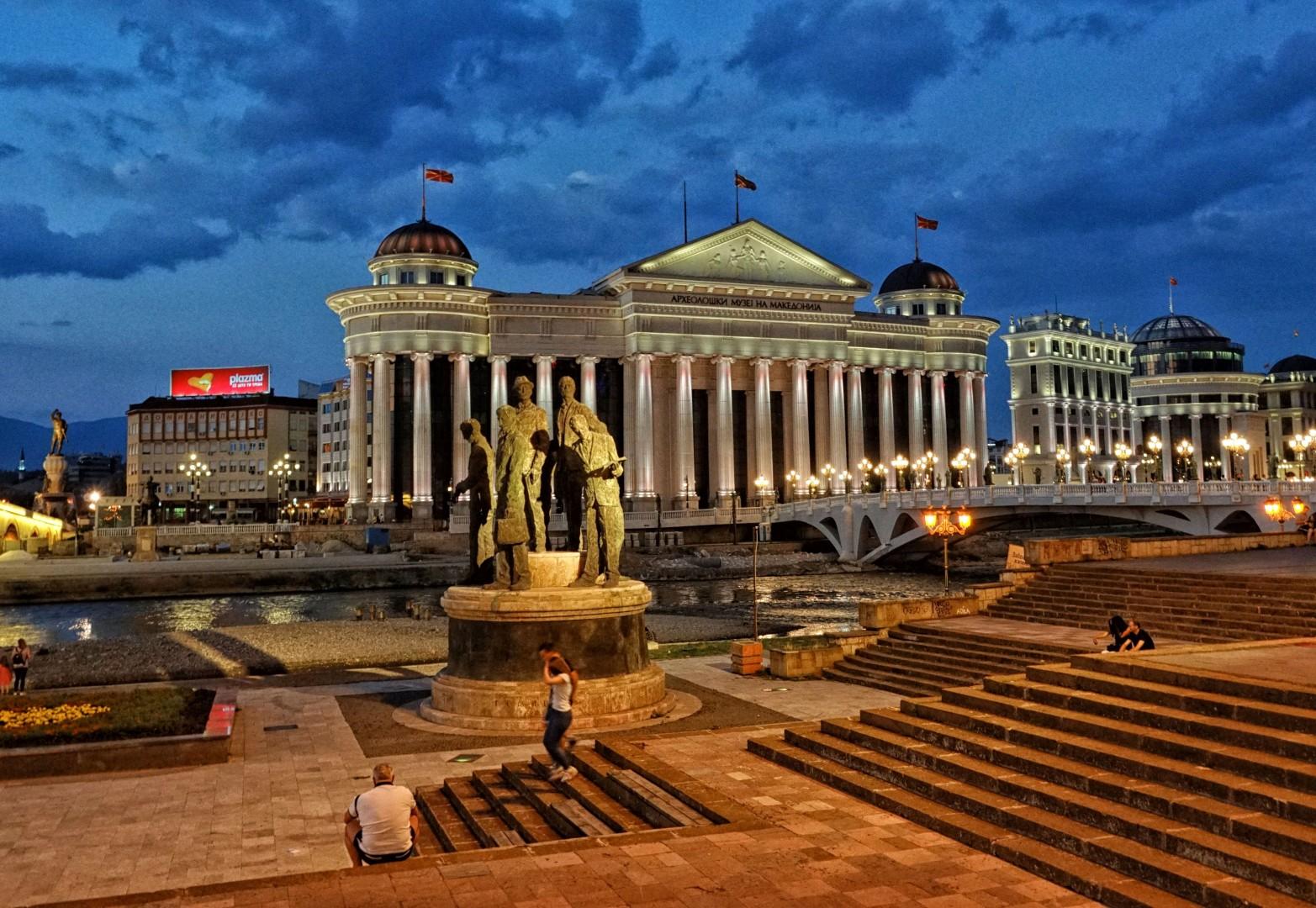 Macedonia to nie tylko Skopje, lecz Skopje to stolica inna niż wszystkie