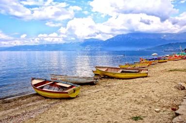 Albańskie jezioro Ochrydzkie
