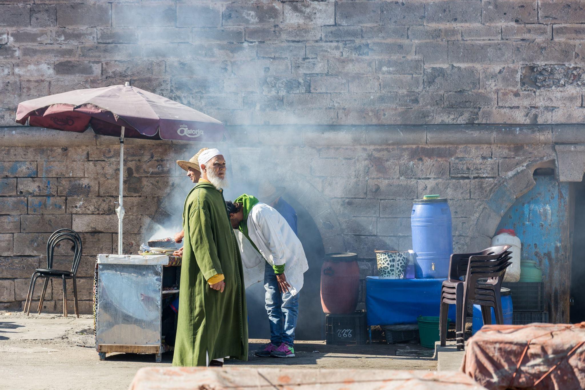 Essaouira słynie z portu rybackiego i ryb