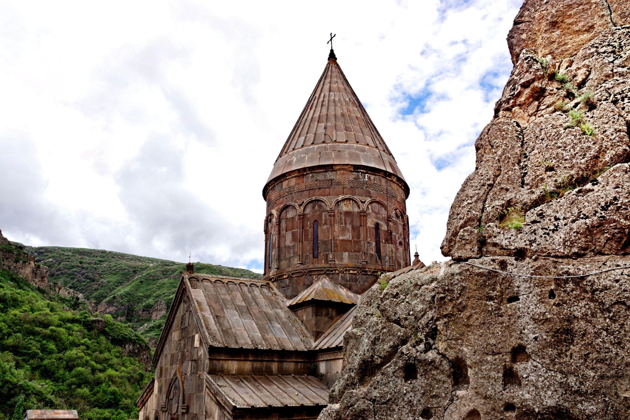 Monaster Geghard od 2000 roku znajduje się na Liście Światowego Dziedzictwa Kulturalnego i Przyrodniczego UNESCO