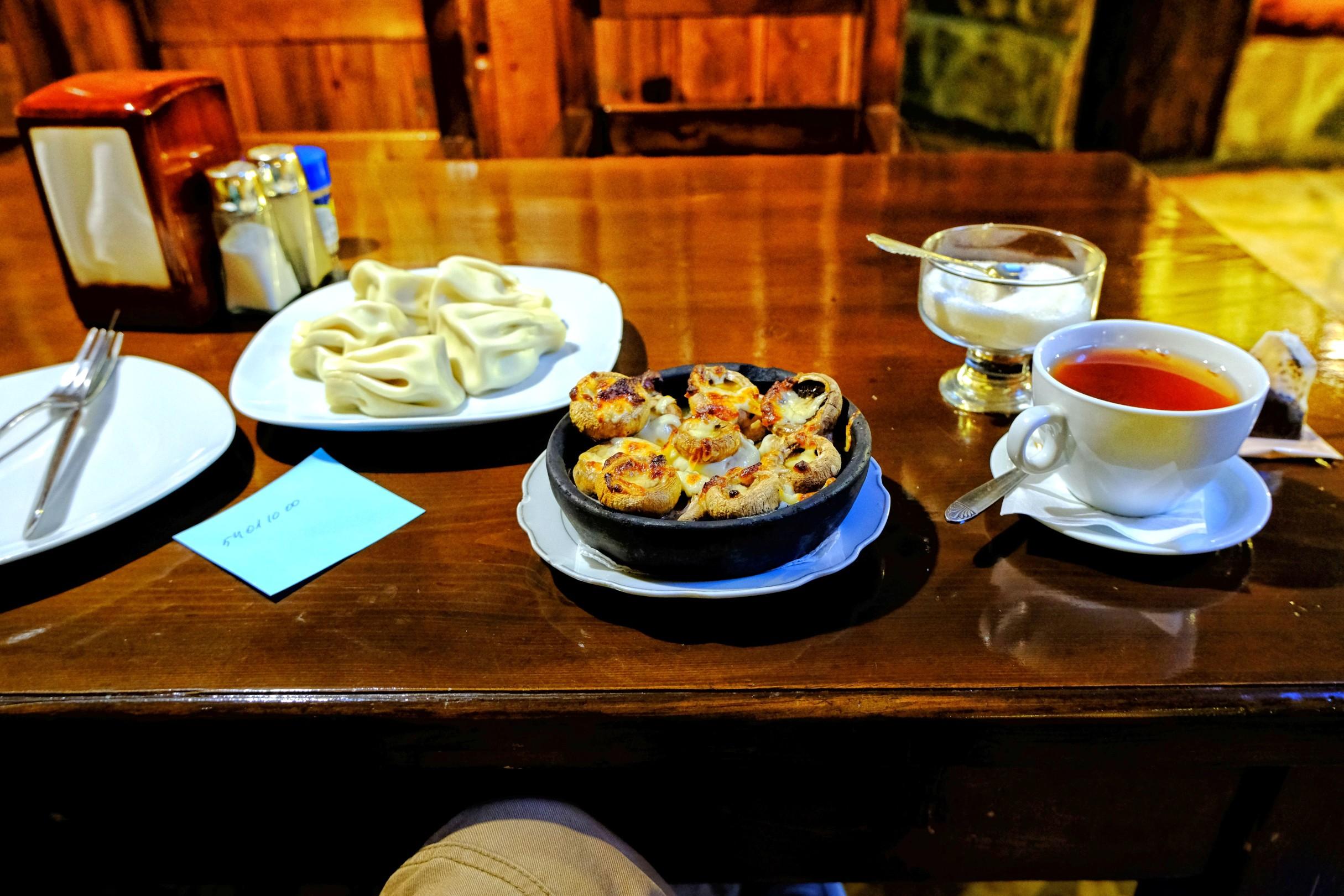 Restauracja Dubli w Achalciche