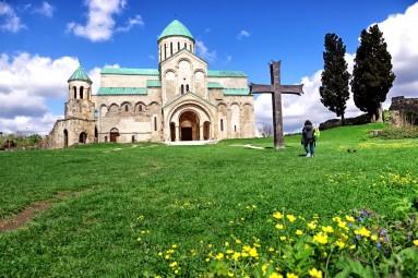 Katedra Bagrata w marcu 2018