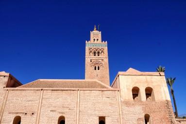 Koutoubia popołudniu Marrakesz